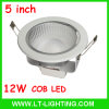 Cheapest 12W COB LED Downlight, 5 Inch (LT-DL004-12)
