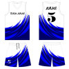Custom Design Sublimated Basketball Vests for Basketball Team