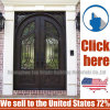 Cheap Price Secuity Wrought Iron Door