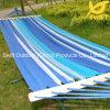 Blue Stripe Hammock with Wood Spread