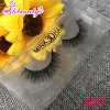 100% Hand Made Siberian Black Cotton Mink Eyelashes