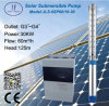 6in 30kw 40HP Centrifugal Solar Submersible Water Pump