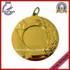 Customized Iron Die Struck Medal with Gold Finish, No MOQ.