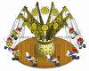 Flying Chair Carousel 10p /Amusement Park Ride (LH05)