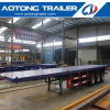 40FT Skeleton Trailer 3 Axle Flatbed Semi Trailer