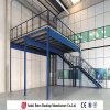 Prefabricated Steel Warehouse, Rack Industrial Warehouse Mezzanine and Platform