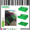 Green Color Plastic Foldable Box for Fruit and Vegetables