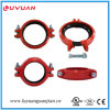 "UL Listed, FM Approval Ductile Iron Grooved Flexible Clamps 8""- 219.1"