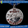 Superior Quality Soft Enamel Metal Silver Medal for Promotion Event