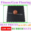 2016-2017 on Sales Gyms Rubber Outdoor Indoor Colorful Flooring Tiles
