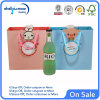 Colored Luxury Paper Bag with Ribbon (QYM2505)
