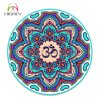 Beautiful Print Om Mandala Professional Round Yoga Mat for Adult and Kids