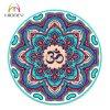 Beautiful Print Om Mandala Professional Round Yoga Mat for Adult and Kids
