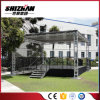 Modualr Adjustable Aluminum Wedding Stage with Stairs