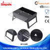 Stainless Steel Folding Barbecue Table Charcoal Grill BBQ