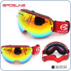Myopia Frame Ski Goggles Interchangeable Lens Glasses Custom Ski Goggles