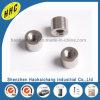 Iron Nickel Plated Round Nut