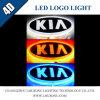 Car 4D LED Logo Badge Light for KIA