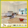 Prefabricated Light Emperador Marble Kitchen Countertop