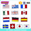 Handmade Enamel International Flag Charm for Jewelry #14596