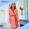 100% Cotton Women Bathrobe, Winter Warm Bathrobe for Women