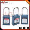 Thin Steel Shackle 4.5mm Safety Padlock Lockout with Master Key