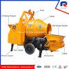 Movable Trailer Concrete Pump with Drum Mixer (JBT40)