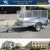 7X5 Box Trailer with Cage
