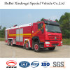 22ton HOWO Water Fire Engine Truck Euro4