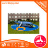 Guangzhou Small Kids Plastic Slide and Swing