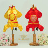 Royal Golden Pet Jumpsuit Chinese New Year Dog Costumes
