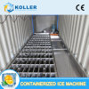 5 Tons Containerized Ice Block Pop Maker Machine with SUS304 Materail for Fishing and Food Processing