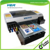 Ce Approved A2 Desktop UV LED Flatbed Printer for Printing PVC ID Card, Pen, Phone Case, Glass, Metal, Ceramic, T-Shirt