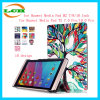 PU Leather Smart Magnetic Cover Case for Huawei Mediapad