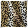 Printed Fake Fur with Leopard Point