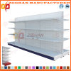 Sale Customized Supermarket Punched Back Panel Display Shelving (Zhs524)