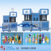 2000ml Two Cavity Semi-Automatic Pet Bottle Stretch Blow Moulding Machine