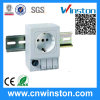 SD 035 DIN Rail Mountable Enclosure Electrical Receptacle with CE