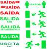 Exit Sign, Emergency Light, LED Emergency Exit Sign, Exit Light, LED Exit Sign