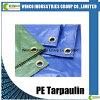 Woven Poly Tarp Rolls Waterproof Customized Blue PE Tarps Tarpaulin PE Roll