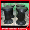 Nature Black Marble Roman Column