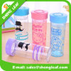 Great Portable Creative Glass Cup Fashion Water Bottle Caps (SLF-WB030)
