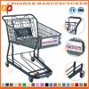 Top Quality Supermarket Shopping Cart Trolley with Two Basket (Zht148)