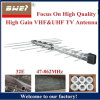 TV Antenna 32 Element Log Periodic Outdoor UHF VHF FM