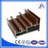 Wood Color Extruded Aluminium Decoration Profiles
