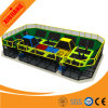 Kids Toys Nice Design Indoor Gym Indoor Equipment Trampoline with Sponge Pool