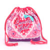 Cheap Red Cotton Drawstring Pouch Wholesale (CCB-1014)