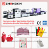 Automatic Non Woven Bag Making Machine Loop Soft Handle Bag Making Machine (ZXL-E700)