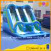 Aoqi Design Inflatable blue Water Slide with Pool (AQ1073)