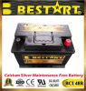 12V 66ah Automotive Vehicle Battery Car Battery Bci 48r